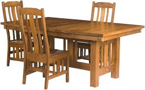 plains mission dining room table erik organic