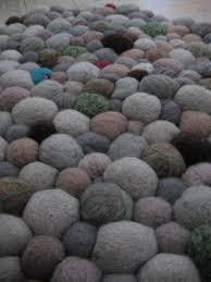 pebble rug diy faux pebble rug shelterness