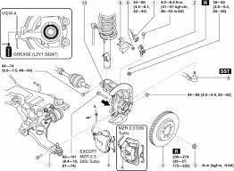 mazda 3 service manual wheel hub steering knuckle removal