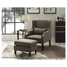 kitchener accent chair bonded leather simpli home target