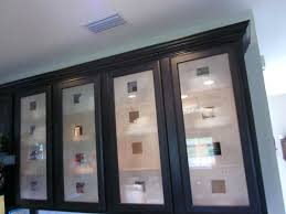 kitchen cabinets with frosted glass corner trash cabinet exles luxurious kitchen cabinet doors with