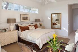 How To Choose Accent Wall by Interior Design For Long Narrow Bedroom With Ceiling Fan And White