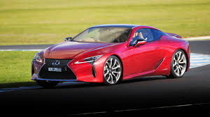 red lexus 2017 lexus lc500 review caradvice
