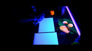 glow in the dark spray painting youtube