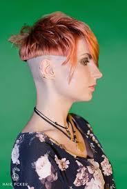 redhair nape shave 203 best shaved sides and back images on pinterest short