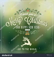 vintage christmas vector background typography card stock vector