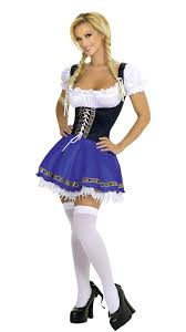 Maid Halloween Costume Hofbrau Fraulein Halloween Costume 1 Pc Blue