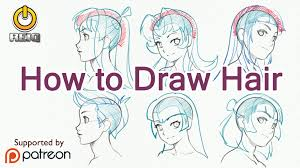 anime hairstyles tutorial drawing of anime hair 25 best ideas about anime hair tutorial on