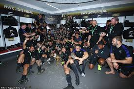 new zealand celebrate with a haka as they win third rugby world cup