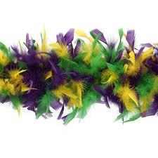 mardi gras boas chandelle boas multi colors mardigras 7 5