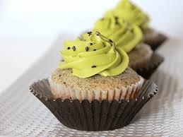 sesame cupcakes black sesame cupcakes onesweetday bake shop