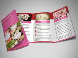 florists u0026 flower delivery service brochure template mycreativeshop