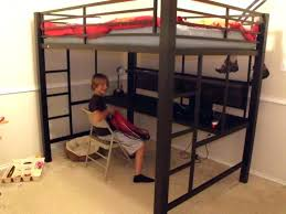 full size loft bed with desk ikea ikea loft bed full metal loft beds with desk image of black full