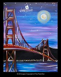 drawing easy acrylic golden gate bridge the paint bar com