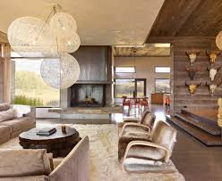 Longhorn Decorating Ideas Inspired Cow Skull Method Austin Contemporary Living Room