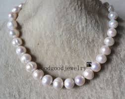 large pearl necklace images Floating pearl necklace freshwater pearl necklace large jpg