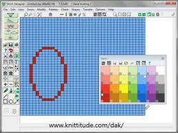 top pattern design software designaknit 8 stitch designer tutorial using the top menu bar