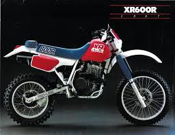 honda xr600 1987 vinduro