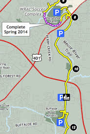 raleigh greenway map neuse river greenway trail raleighnc gov