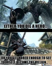 Villain Meme - hero or villain by borntobefeatured meme center