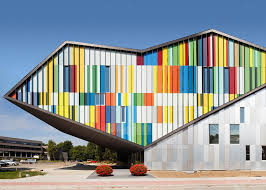optical center siege social performance centre in belgium by carlos arroyo with an optical