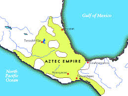aztec map of mexico the aztecs are located in mexico and the capital city is