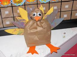how to make a turkey out of a pine cone learners lounge paper bag turkey
