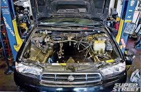1998 subaru legacy gt wagon project bp5 engine swap