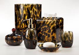Tuscan Bathroom Vanity by Tortoise Tuscan Glass Bath Accessories By Labrazel Tuscan