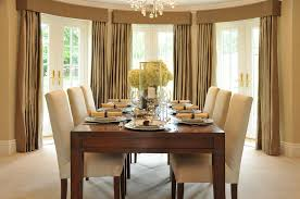 Dining Room Draperies Emejing Dining Room Curtains Images Home Design Ideas