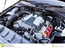audi q7 horsepower audi q7 3 0t quattro 2014 engine room editorial stock photo