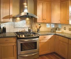 kitchen ideas with maple cabinets kitchen light maple kitchen cabinets stainless range design