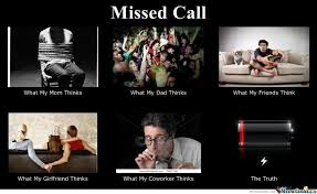 Call Meme - missed call by violethammad meme center