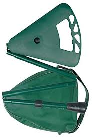 flipstick canne siege canne siège ajustable pliante vert foncé bâton de marche sac à