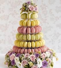 wedding cake alternatives macaroon tower 7 tier anges de sucre
