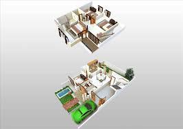 tiny interior plan creative more 2 storey small house design 3d