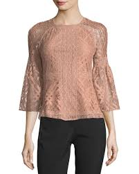 sleeve lace blouse burberry bell sleeve lace blouse