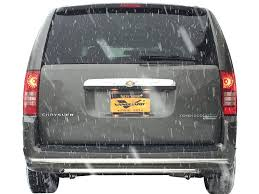 dodge grill 08 15 dodge caravan rear bumper protector grill guard double layer