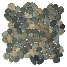 bali ocean pebble tile pebble tile shop
