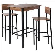 table haute cuisine but table haute bar bois awesome mange debout table haute meuble bar