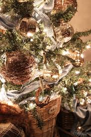 Decorate Christmas Tree Rustic by Rustic Glam Christmas Tree Fynes Designs Fynes Designs