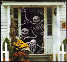 59 halloween skeleton door decorations halloween skeleton haunted