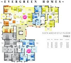 apartment plans 30 200 sqm architecture design then cute colourful