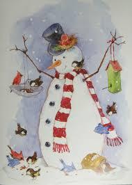 christmas cards themed when a gardener sends christmas cards