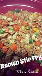 Cheap Easy Dinner Ideas For 2 Mrs Scales U0027 Recipes N U0027 Things Ramen Noodle Stir Fry Cheap