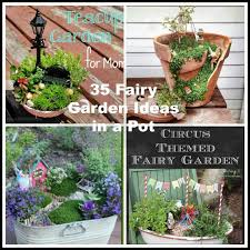 35 fairy garden ideas in a pot