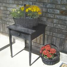 Refinish Metal Patio Furniture - wood table refinishing for front porch decor