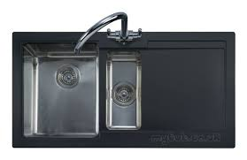 leisure kitchen sink spares cubix gemini n stn 15b lhd black leisure