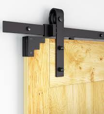 Sliding Door Wood Double Hardware by 6ft 8ft 10ft Rustic Black Sliding Barn Door Hardware Modern Double