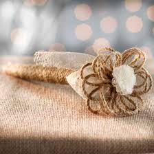 wedding guest book pen rustic jute and lace guest book pen wedding ceremony accessories